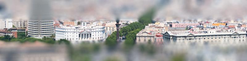 Barcelona - Placa del Portal de la Pau