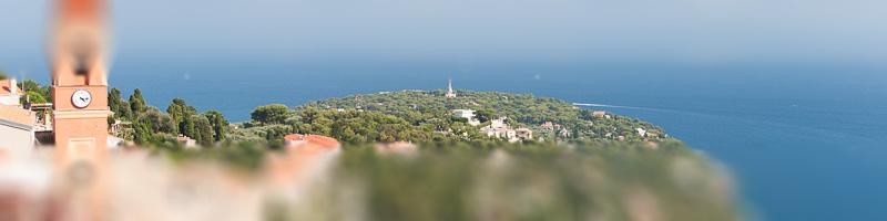 Côte d'Azur - Restaurants: Meerblick