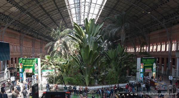 Madrid - Atocha-Bahnhof