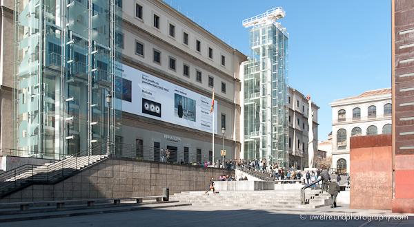 Madrid - Kunstzentrum Reina Sofía