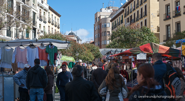 Madrid - Rastro - Flohmarkt
