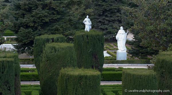 Madrid - Sabatini-Gärten