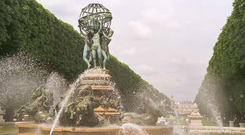 Paris - Fontaine de l'Observatoire